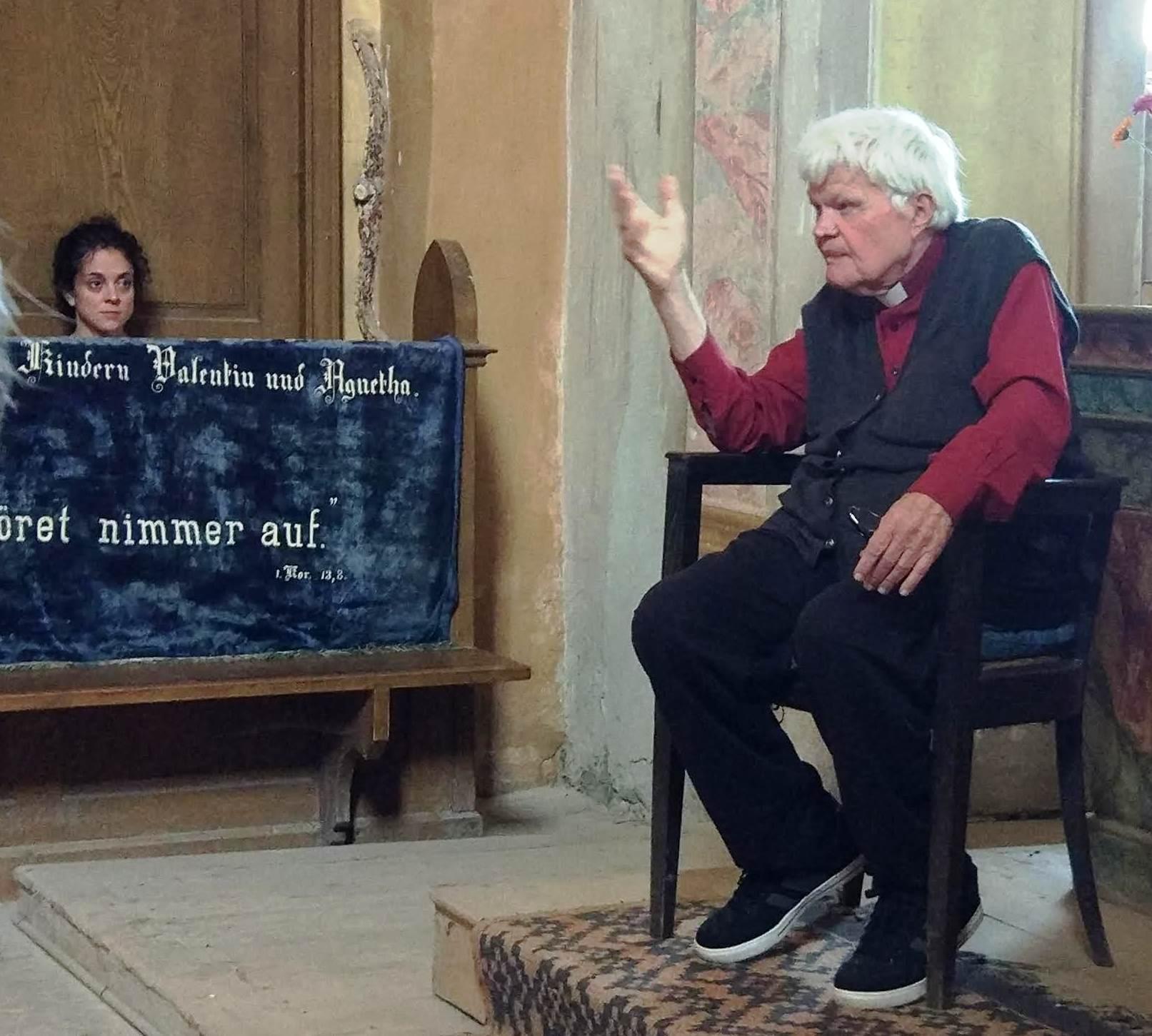 Pfarrer Eginald Schlattner
