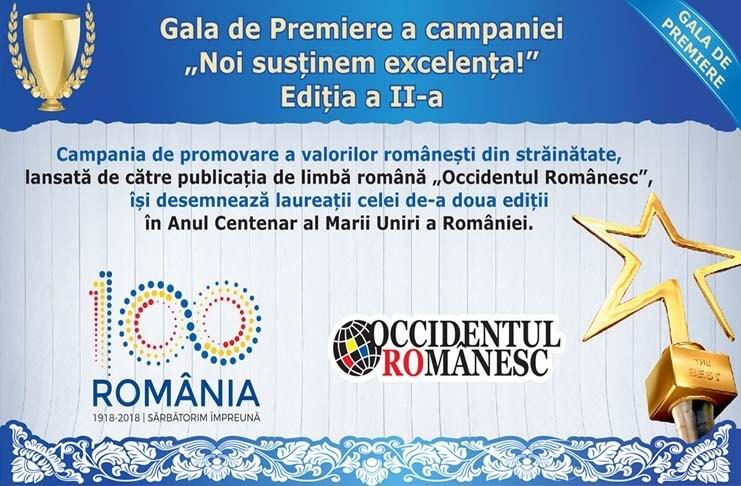 Gala de Premiere - Occidentul Romanesc