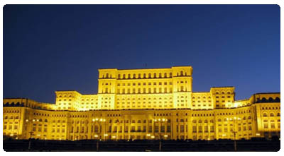 Bukarest - Palast des Volkes